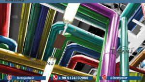 شماتیکی از کاربرد ضد زنگ اپکسی فلز